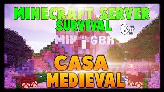 Minecraft Server Survival 6# - Casa Medieval