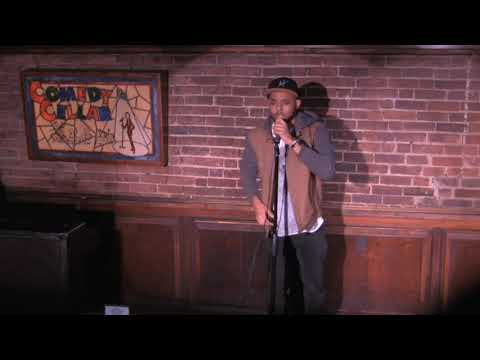 Chris Moseley at The Comedy Cellar