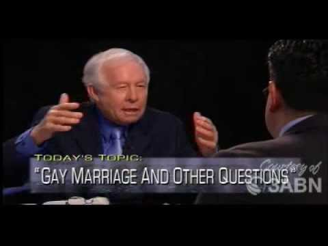 Gay Marriage And Other Questions