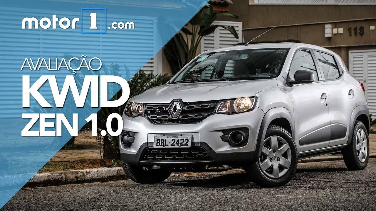 Avaliação Renault Kwid Zen 10 2018 Motor1com Brasil Youtube