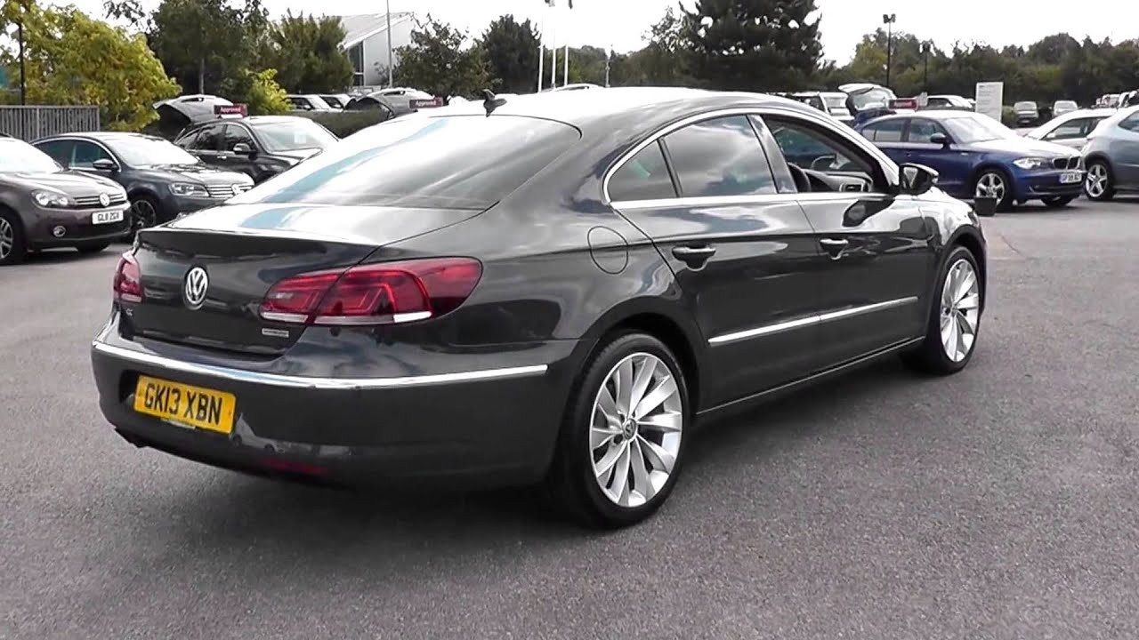 volkswagen cc bluemotion gt  glxbn urano grey metallic  jcb vw ashford youtube