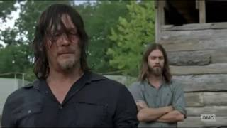 Rick And Daryl Hug