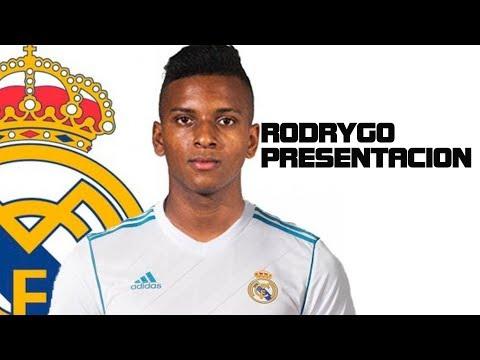Presentación de Rodrygo con el REAL MADRID (18/06/2019)