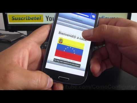 como escuchar radio de venezuela por internet samsung galaxy s3 i9300 español Full HD