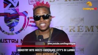 INDUSTRY NITE HOSTS CHOCOLATE CITY'S DJ LAMBO