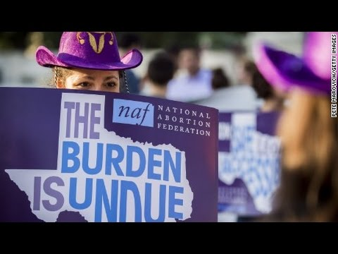 Texas Abortion Laws Slapped Down By Supreme Court!