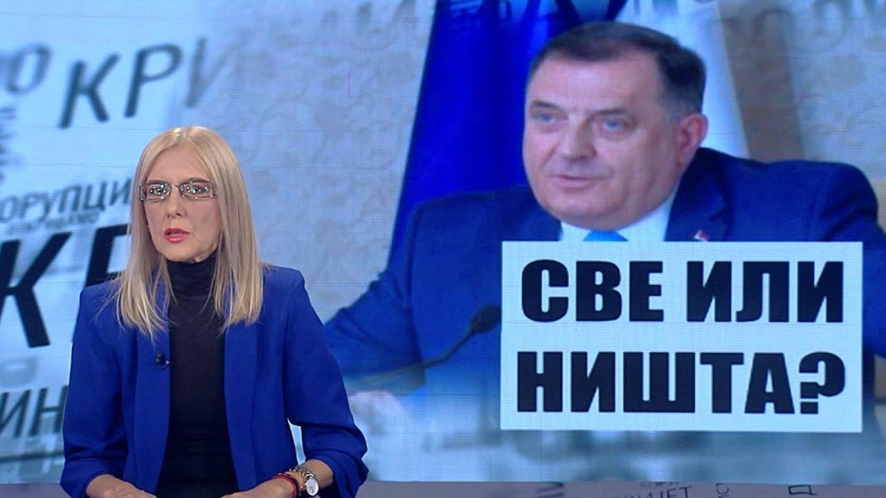 Download CRNO NA BIJELO: Dodik igra na sve ili ništa! Promjena izbornog zakona u BiH? Smjene zbog korupcije?
