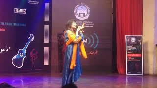 Gambar cover sehrish khan 2020 new song pushto song sheena bangre