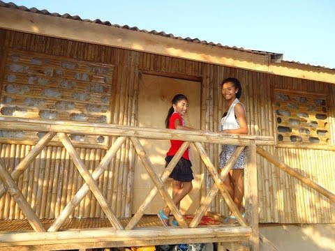 our bamboo house in the philippines and how we made it in 16