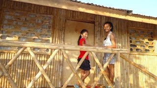 our bamboo house in the philippines and how we made it in 16 days