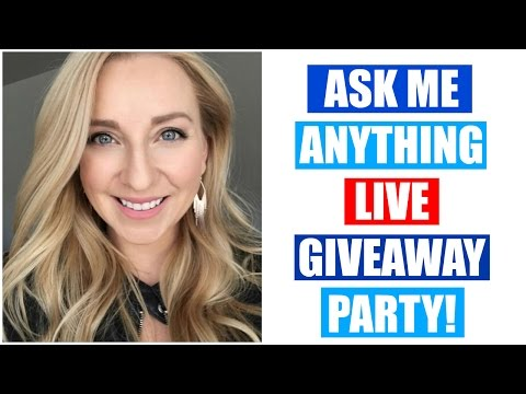 ASK ME ANYTHING! Q&A LIVE Video!