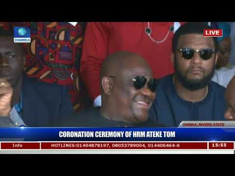 Coronation Ceremony Of HRM Ateke Tom Pt.16  Live Coverage 