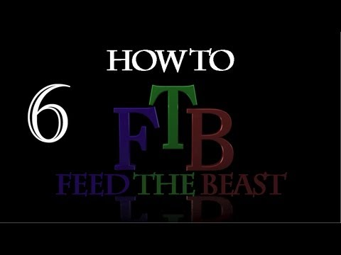How to Feed the Beast in Minecraft - Buildcraft Pump and Redstone Engines - 6