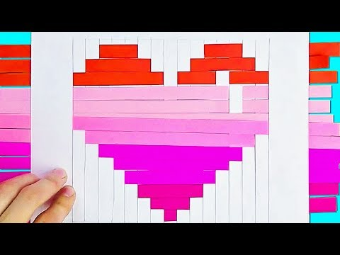 15 BEAUTIFUL AND EASY HEART CRAFTS