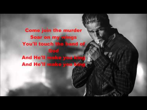 Sons of Anarchy final scene song with lyrics S07E13