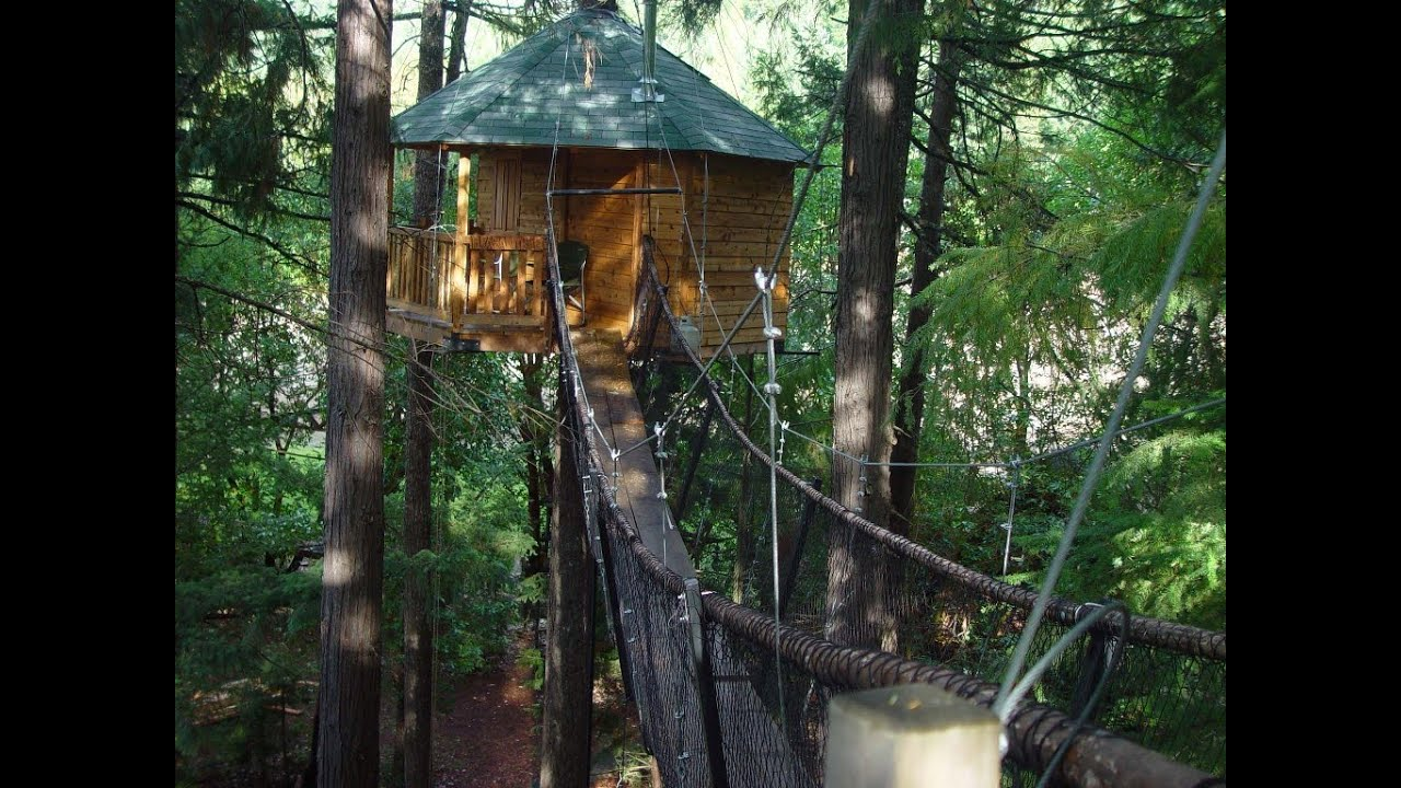 Awesome Treehouse Hotel In Oregon Part - 2: Out U0027nu0027 About Treesort - YouTube