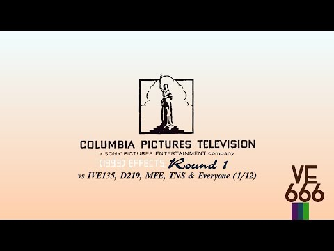 Columbia Pictures Television 1993 Effects Round 1 vs IVE135, D219, MFE, TNS & Everyone 1⁄12
