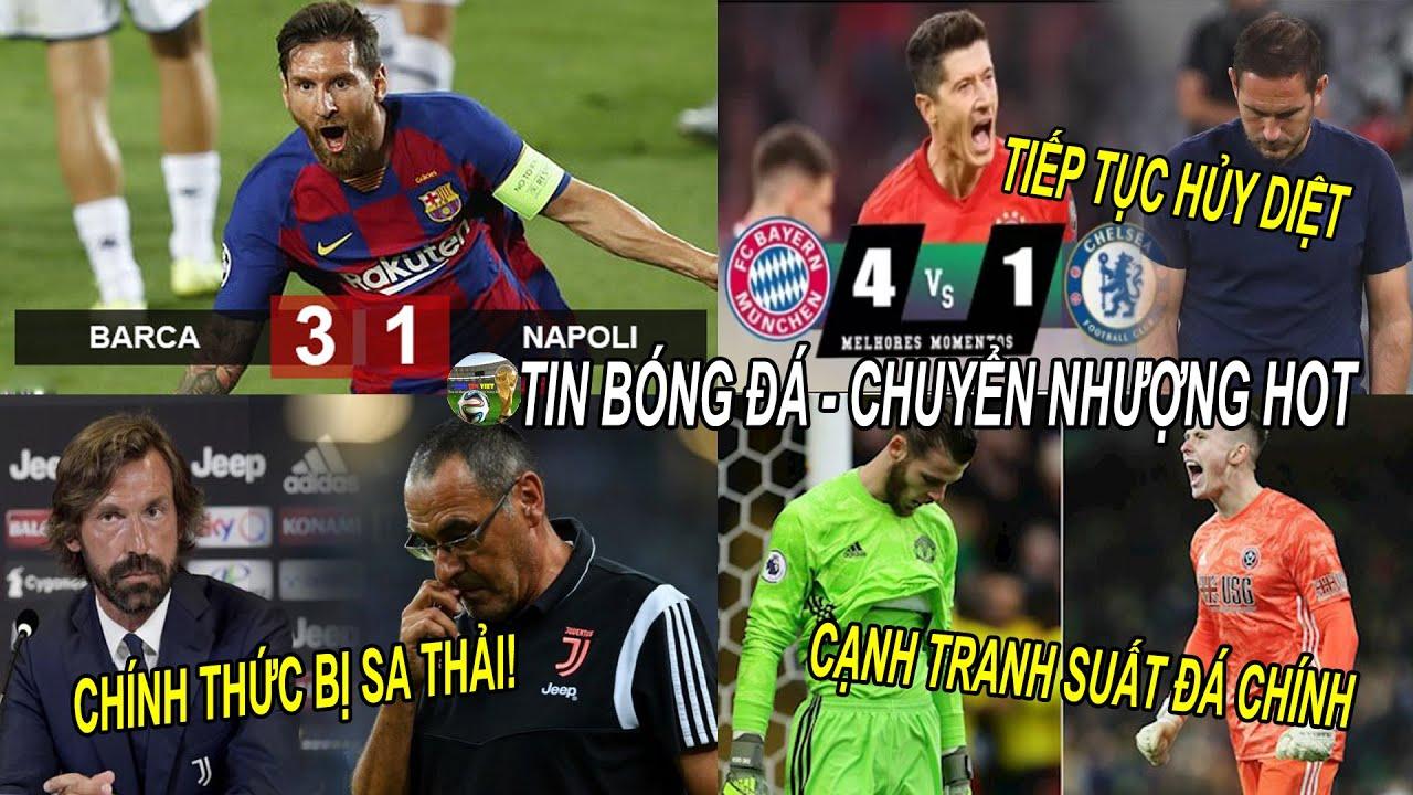💥Tin bóng đá 9/8|KQ C1 Chelsea lại bị vùi dập, Messi đưa Barca vào TK, Sarri CHÍNH THỨC bị sa thải