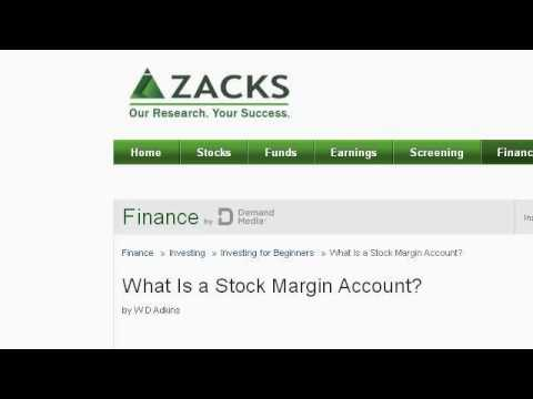 What Is A Margin Account Equity?