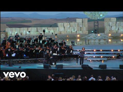 Andrea Bocelli  A Te   From Teatro Del Silenzio, Italy  2007 ft Kenny G