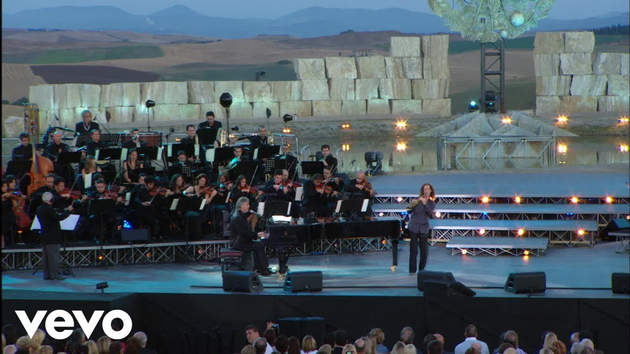 Download Andrea Bocelli - A Te - Live From Teatro Del Silenzio, Italy / 2007 ft. Kenny G