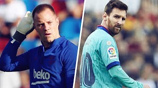 Nothing is going right for fc barcelona! lionel messi and marc andré ter stegen had a major clash in the middle of training. this altercation shows real ...