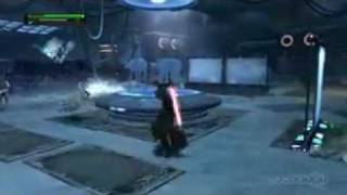 The Force Unleashed Hoth Mission Pack - Rebel Base Gameplay Movie