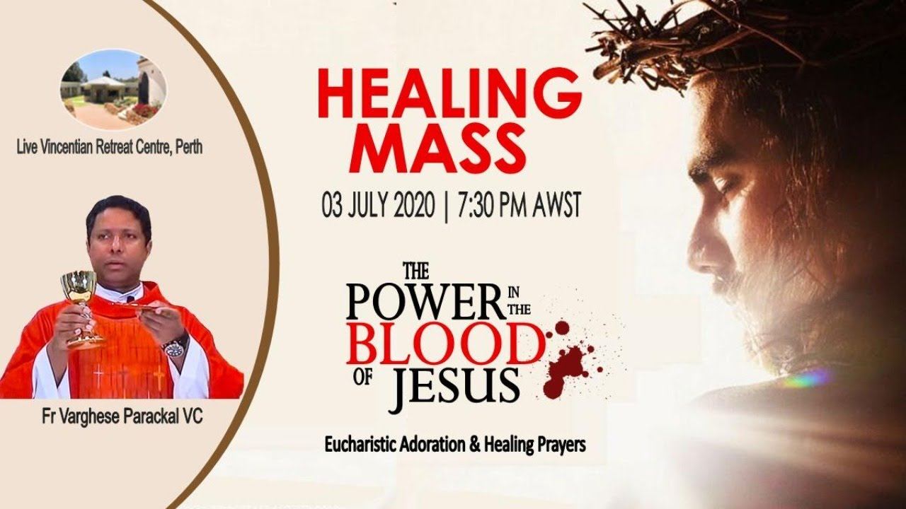 Friday Mass with Healing Service - (03/07/20)
