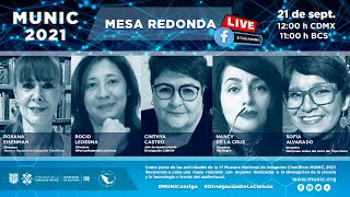 MESA REDONDA con Roxana Eisenmann, Rocio Ledesma, Cinthya Castro, Nancy De La Cruz y Sofia Alvarado.