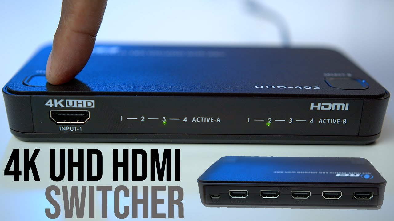 HDMI Switcher With ARC And 4K60Hz Support | OREI UHD 402