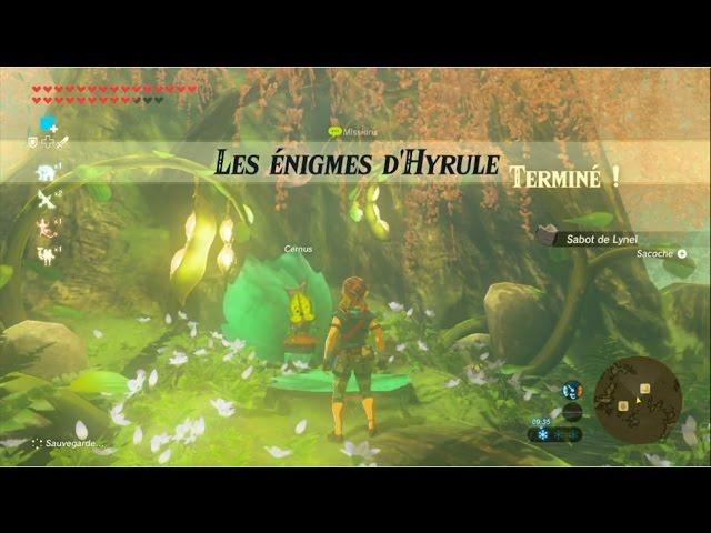 The Legend Of Zelda Botw Guide Les Enigmes D Hyrule Youtube