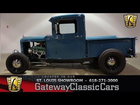 #7301 1932 Ford Model A Pickup HiBoy - Gateway Classic Cars St. Louis