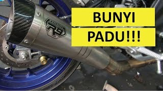 YAMAHA R15 V3 | R9 H2 FULL EXHAUST SYSTEM | MALAYSIA