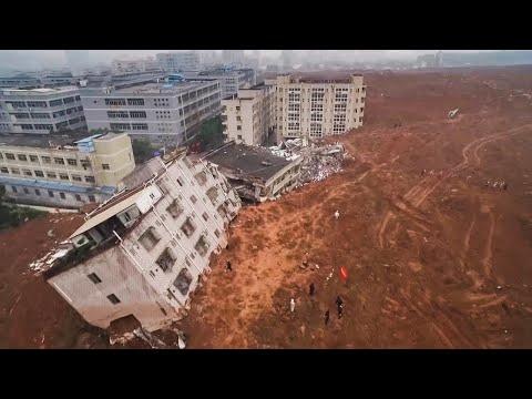 الانهيارات الارضية الاكثر دمارا في العالم 2019 خاصة في الهند و الصين