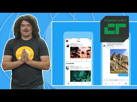 Twitter Redesigns Desktop and Mobile | Crunch Report