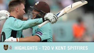 HIGHLIGHTS- T20 v Kent at the Kia Oval