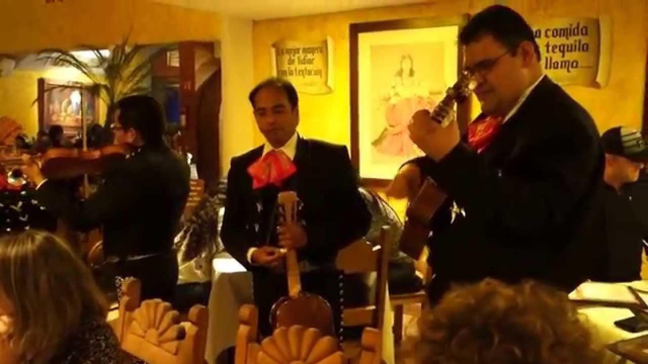 Restaurantes con mariachi en vivo df