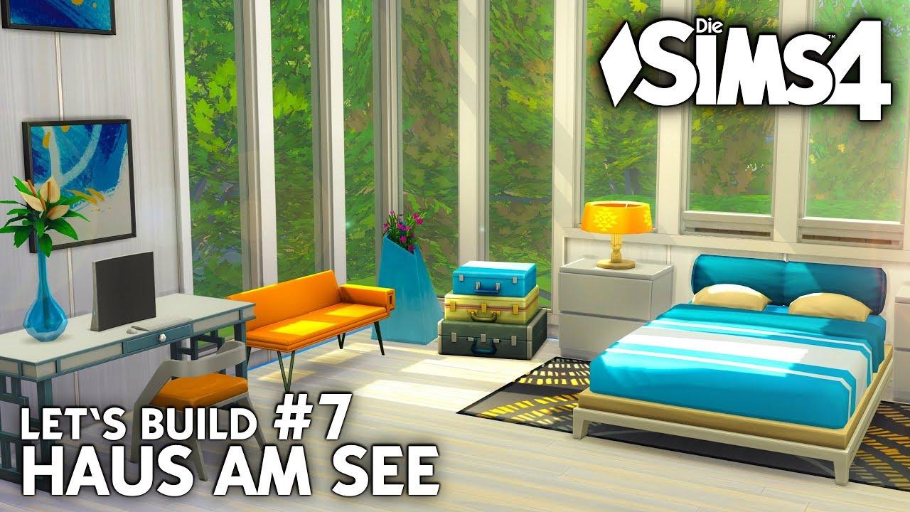Schlafzimmer & Bad einrichten | Die Sims 4 Haus am See bauen | Let\'s ...