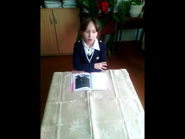 Изображение предпросмотра прочтения – АнжелинаХарасова читает произведение «Горные вершины» М.Ю.Лермонтова