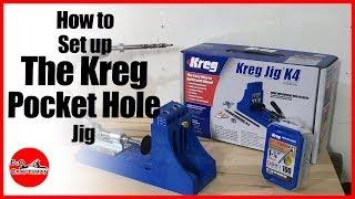 How to set up the Kreg Pocket Hole Jig