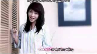 karaoke-Ngủ ngoan nhé-Hải Băng
