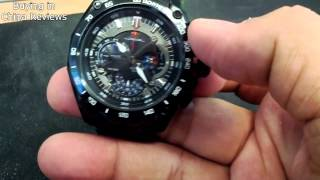 Casio Edifice 550D Red Bull Racing quick video review
