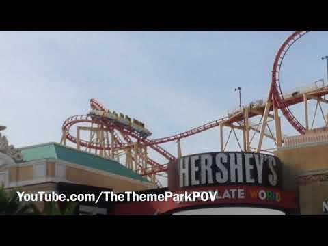 The Big Apple Coaster 1080p HD (Off-Ride) New York New York Hotel & Casino in Las Vegas Nevada