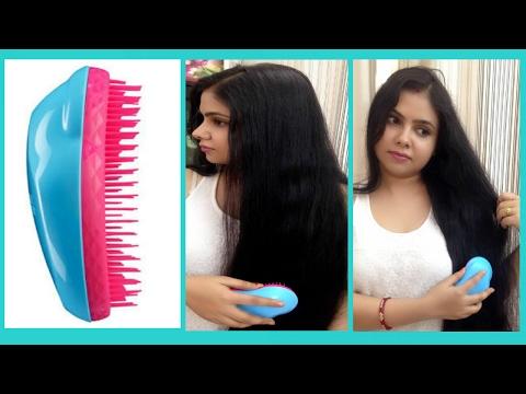 BEST DETANGLING HAIR BRUSH- TANGLE TEEZER #tangleteezer #frizz #hairbrush #detangle
