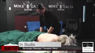 BackPage Massage Carmin Snack