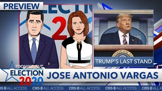 The tooning out election 2020 panel welcomes define american founder jose antonio vargas for special coverage of presidential vote count. watch full segment on cbs all access. #totn ...