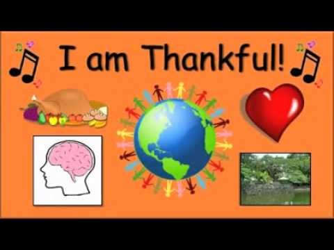 I Am Thankful / A Song for Children