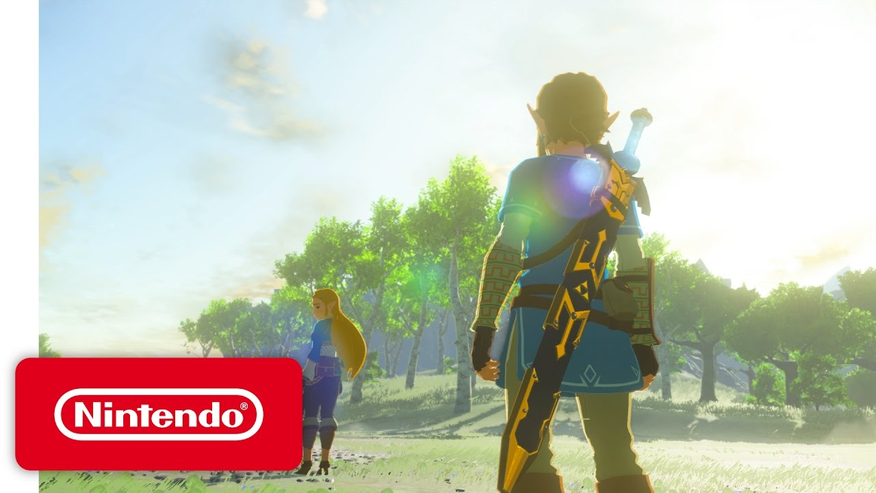 The Legend Of Zelda Breath Of The Wild Nintendo Switch Presentation  Trailer Youtube