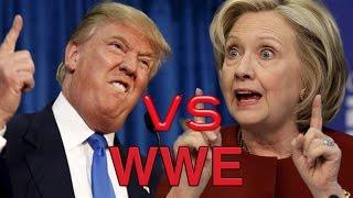 WWE - Donald Trump vs. Hillary Clinton