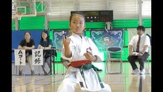 第二回全日本琉球古武道選手権大会 釵 少年1部 琉球古武道少女   Ryukyu kobudo Kobudo Girl
